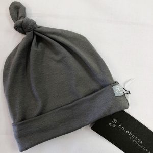 Top Knot Hat Grey Jersey
